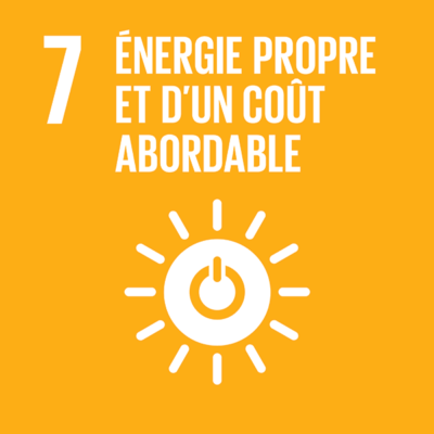 ODD n°7 - Énergie propre et d'un coût abordable