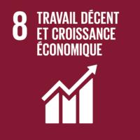 ODD n°8 - Travail décent et croissance économique