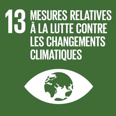 ODD n°13 - Lutte contre les changements climatiques