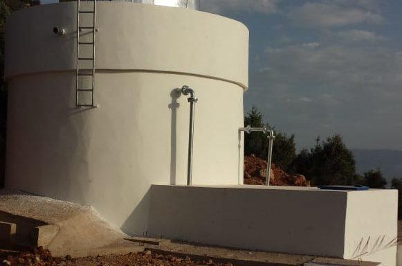 Alimentation en eau potable de 5 douars de montagne
